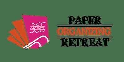 Organize 365 January Paper Organizing Retreat
