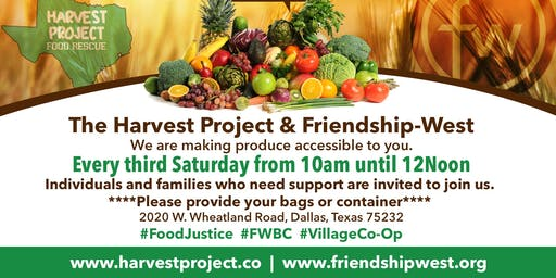 Harvest Project Free Produce