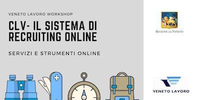 CLV - Il sistema di recruiting online