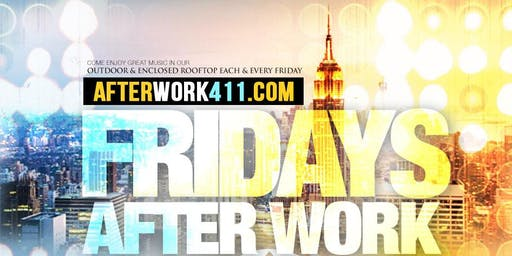 Friday After Work Happy Hour NYC Rooftop Party - The High Bar Rooftop Lounge NYC
