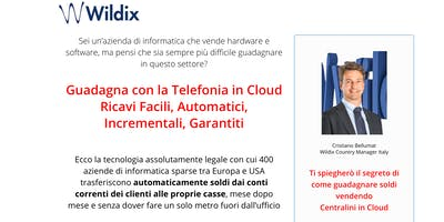 Guadagna con la Telefonia in Cloud Wildix