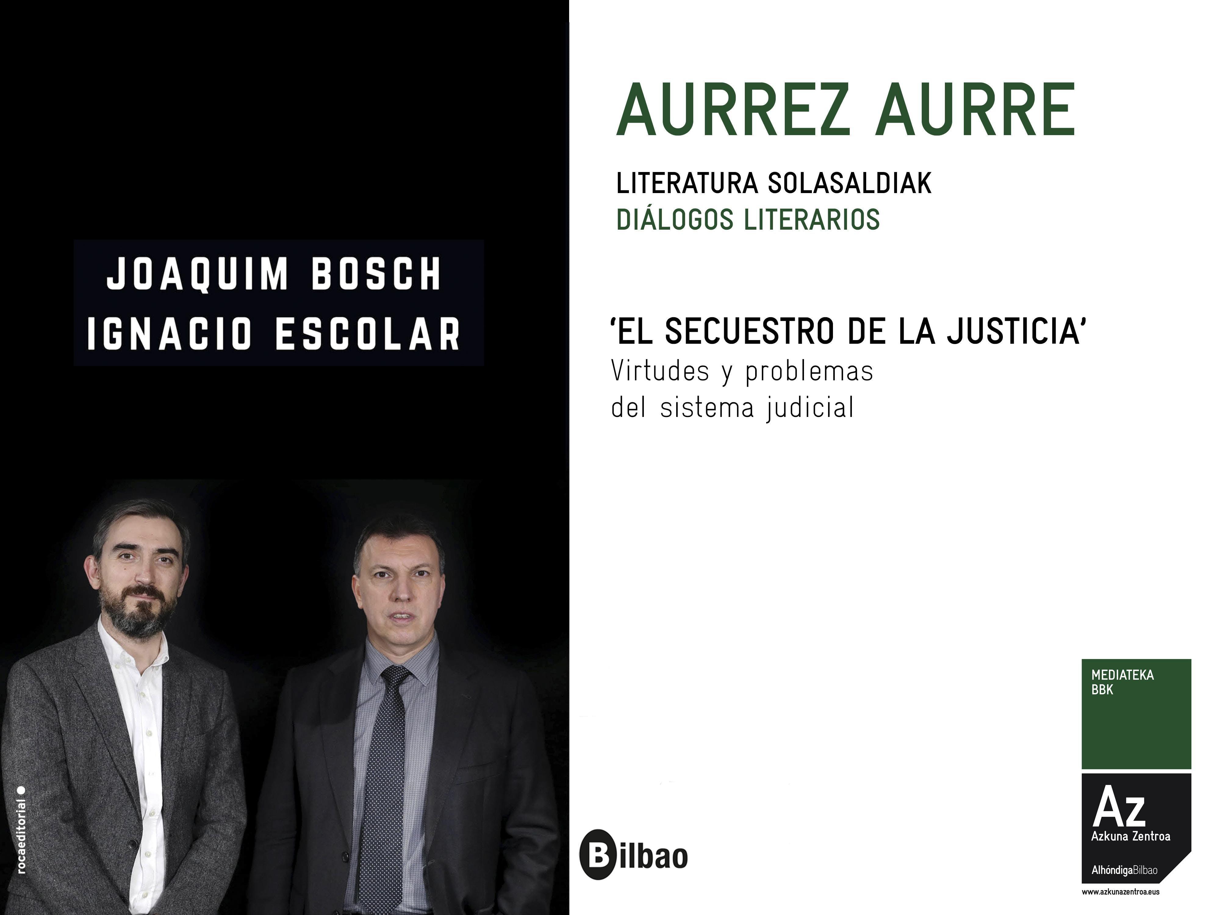 Presentación libro 'El secuestro de la Justicia'