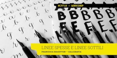 LINEE SPESSE E LINEE SOTTILI - Francesca Biasetton x Cotonfioc Festival