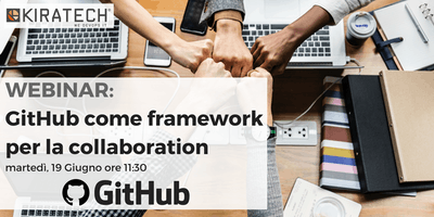WEBINAR: GitHub come framework per la collaboration