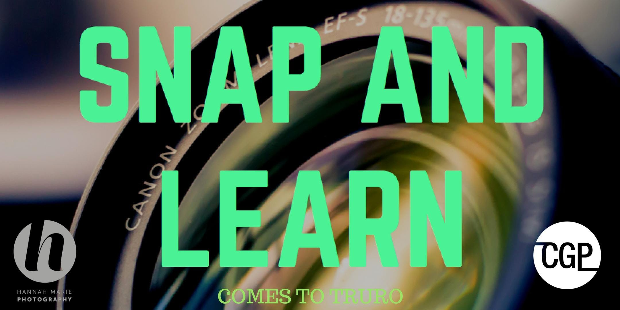SNAP AND LEARN PHOTOGRAPHY WORKSHOPS (TRURO)
