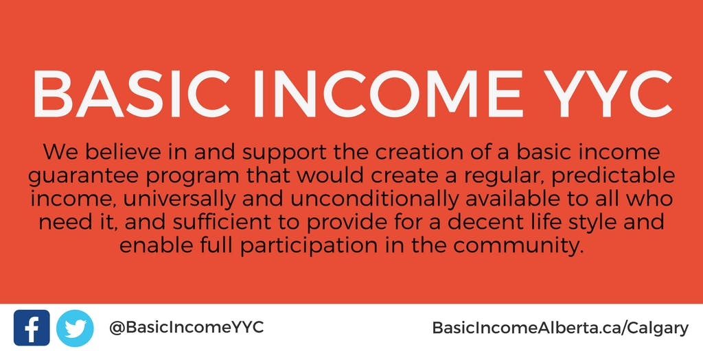 Basic Income Calgary Quarterly Network Meetin