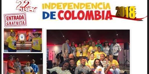 3075d86406 Celebracion De La Independencia de Colombia Atlanta 2018 evento Gratuito