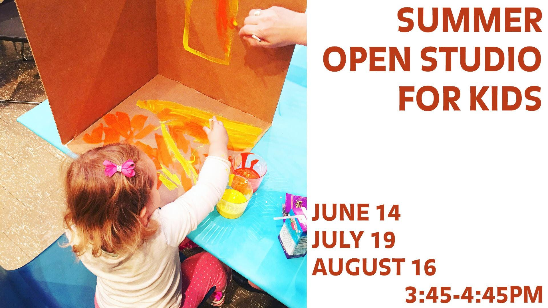 Open Studio for Kids