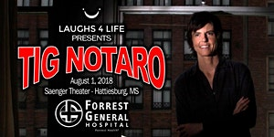 Laughs 4 Life presents Tig Notaro