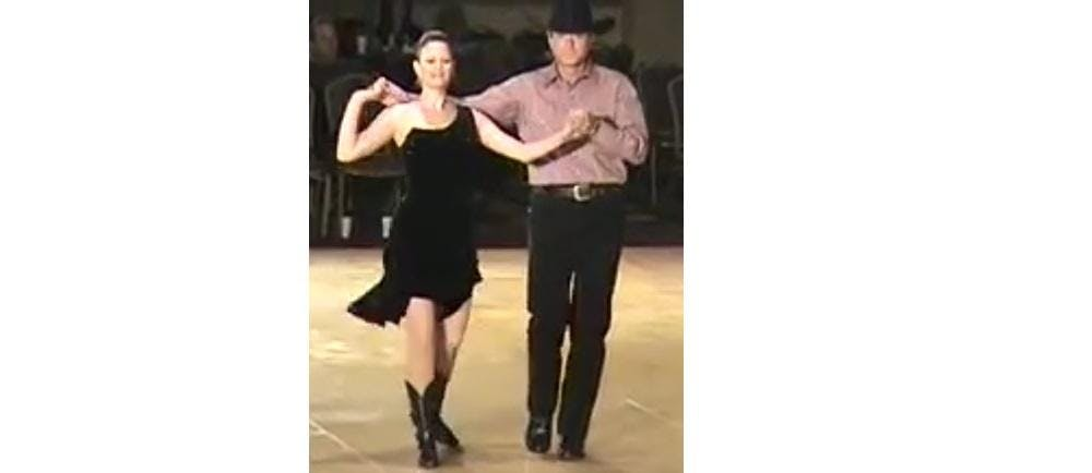 Country Two Step Dance with Lesson