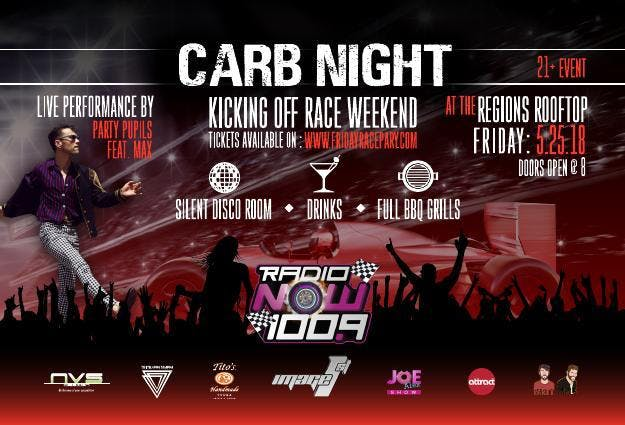 Radio NOW PRESENTS: CARB NIGHT