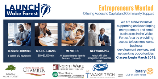LaunchWakeForest Info Session for Entrepreneurs and Small Business Owners