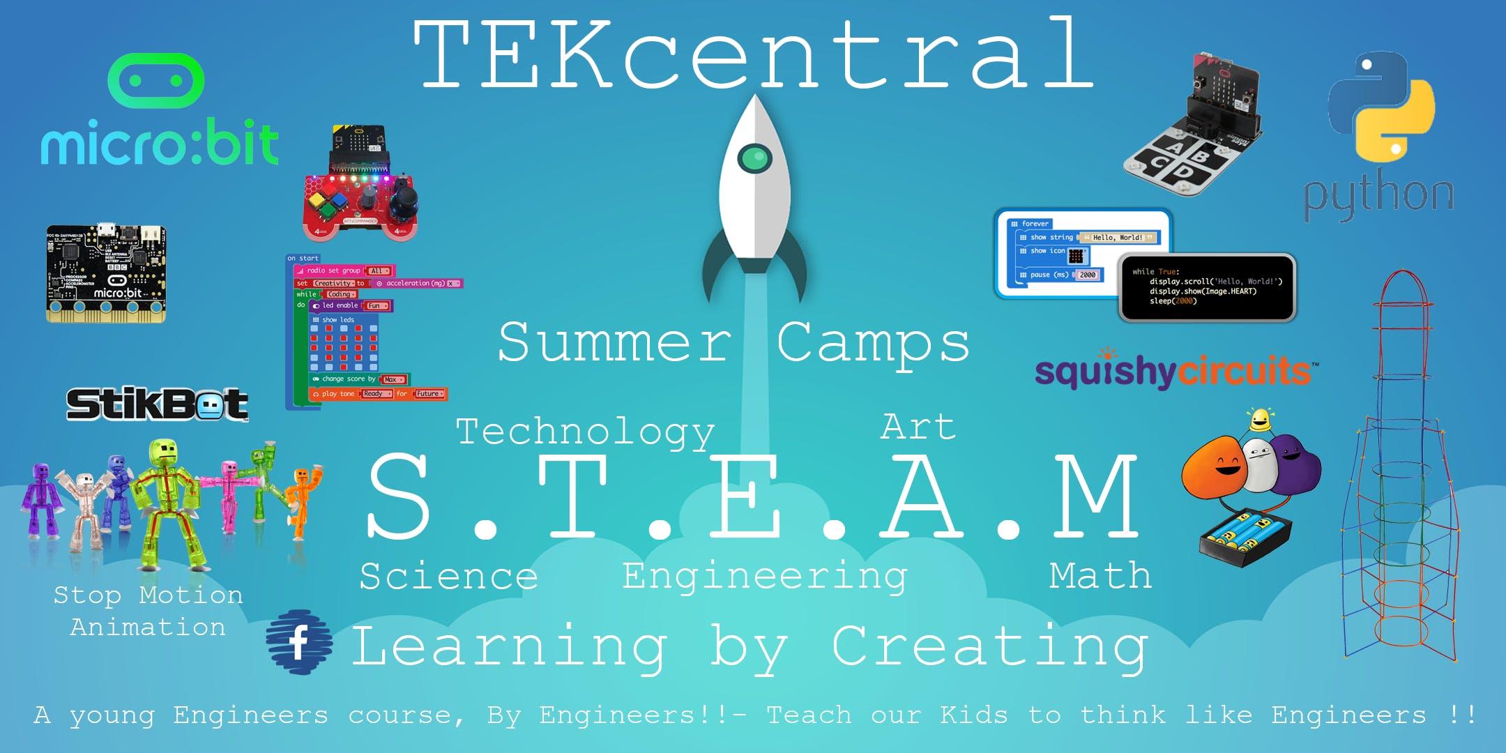 TEKcentral Coding & Technology Summer Camps - Gorey