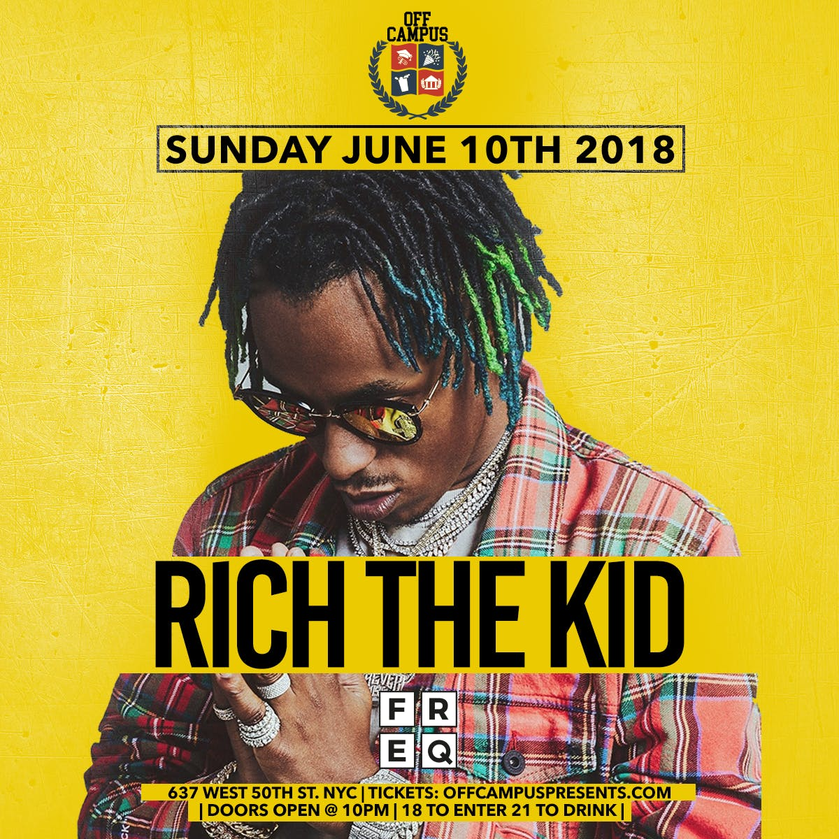 Rich The Kid at FREQ