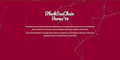 BlackSeaChain`18
