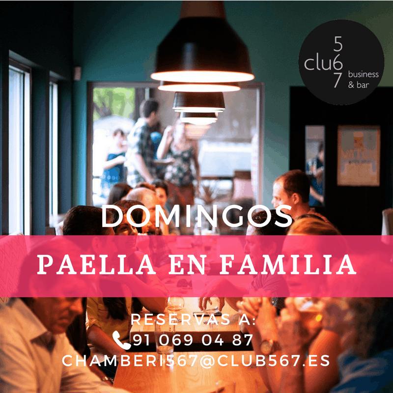 Domingos de Paella en Familia