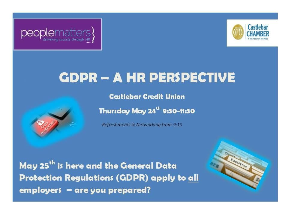 GDPR- A HR Perspective
