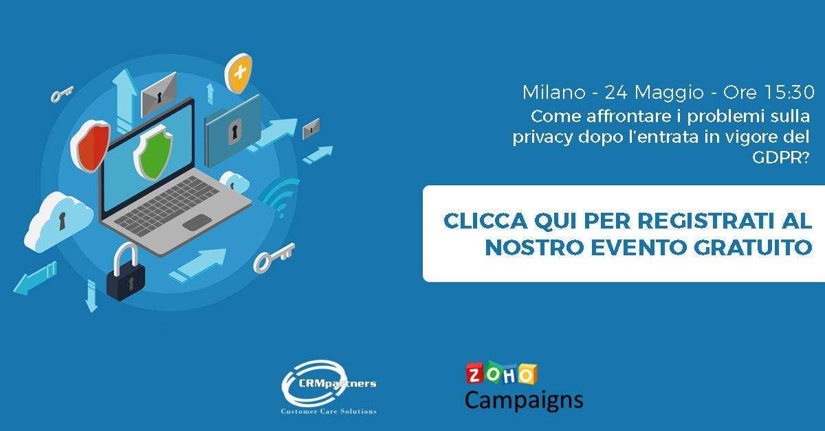 GDPR e Campagne Marketing: Come risolvere i p