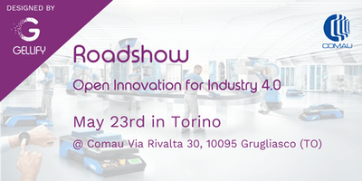 GELLIFY Roadshow Industry 4.0 - Grugliasco (TO)