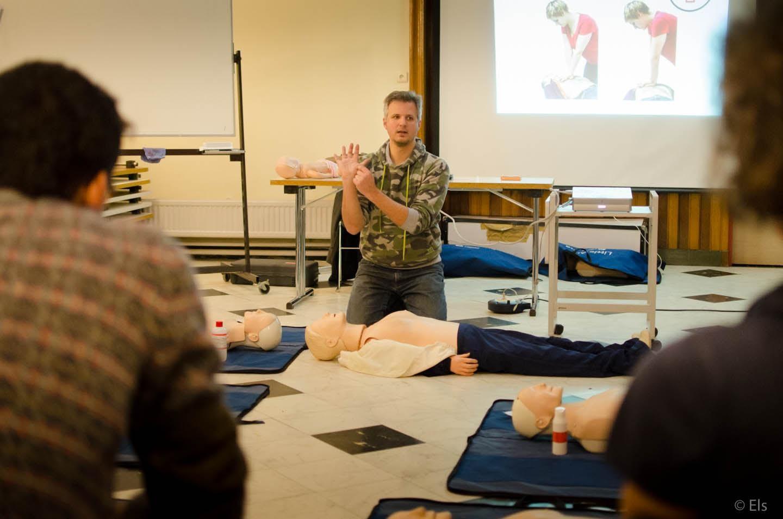 Leer reanimeren bij het Rode Kruis op 20 juli