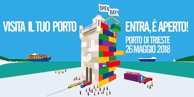 Porto di Trieste Open Day 2018: Anteprima #ilmioporto