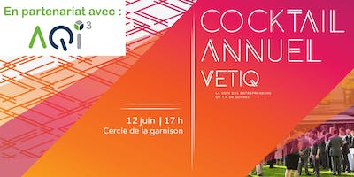 Cocktail annuel de la VETIQ 2018