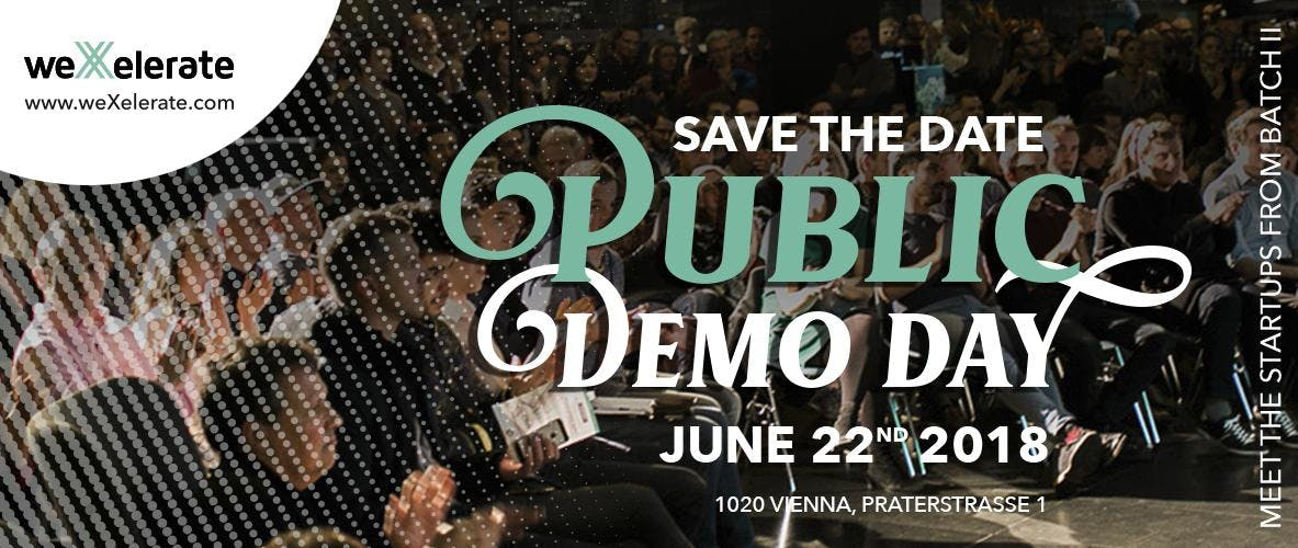 Public Demo Day at weXelerate
