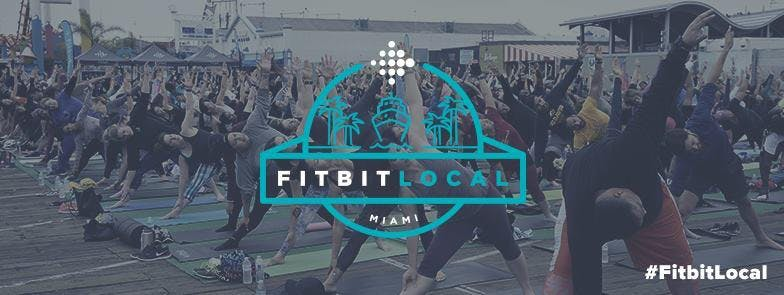 Sunday Sweat and Splash with Fitbit Local