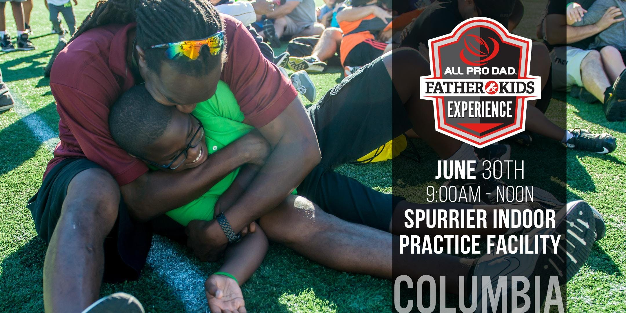 Columbia All Pro Dad Father &amp Kids Experience at The University of South Carolina