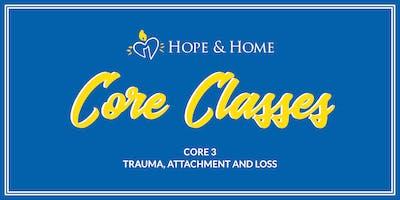 Core 3 - Trauma, Attachment and Loss