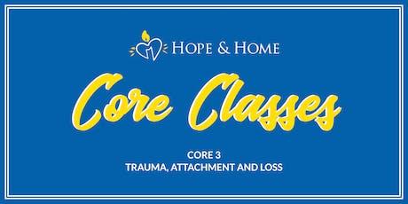 Core 3 - Trauma, Attachment and Loss tickets