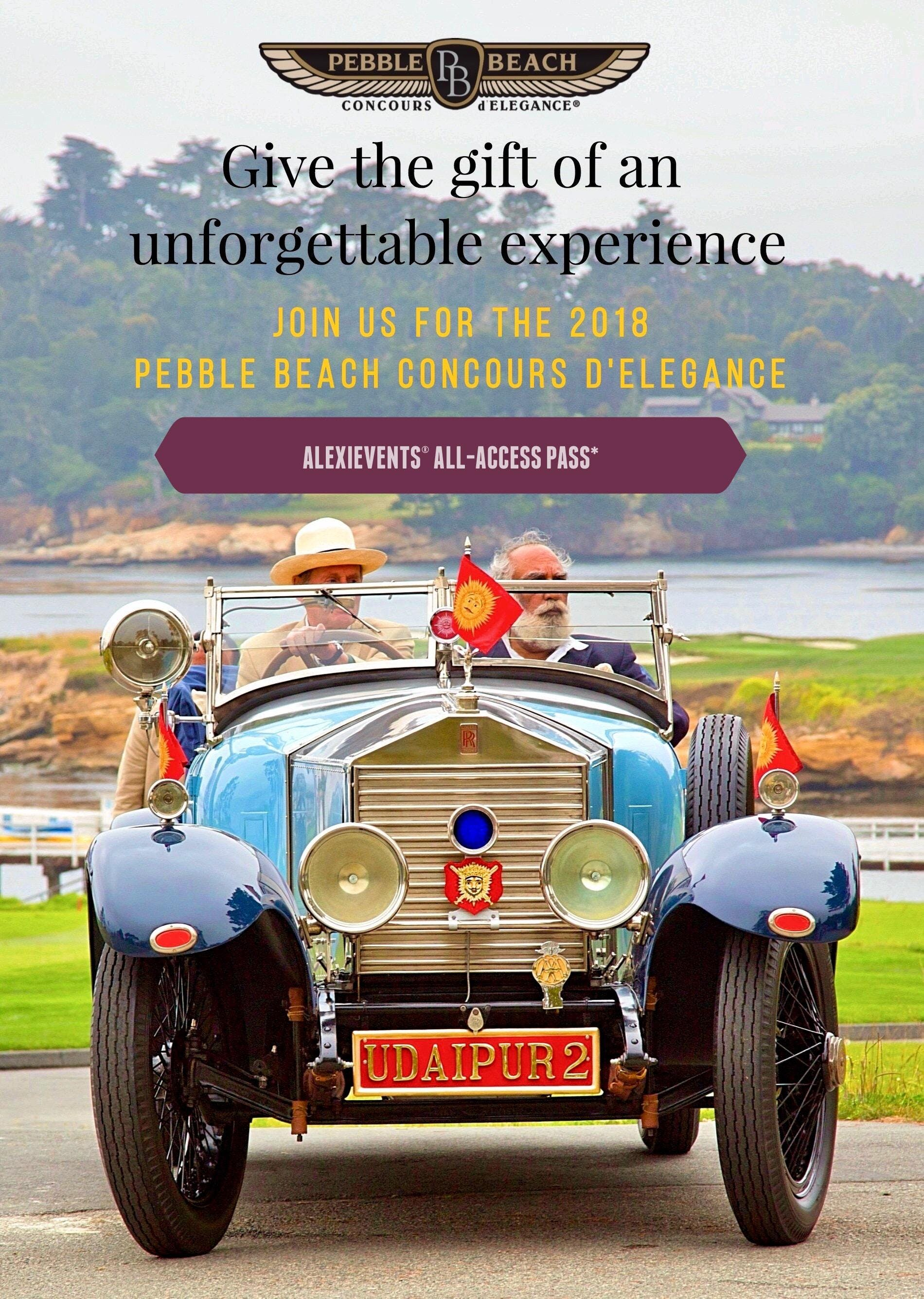 PEBBLE BEACH CONCOURS D ELEGANCE AUG - Pebble beach car show 2018