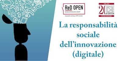 La responsabilità sociale dell'innovazione digitale