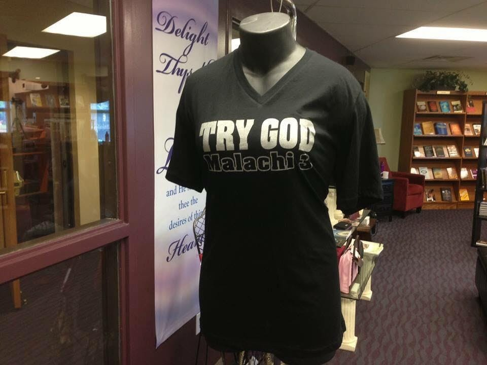 TRY GOD BOOK SIGNING WAuthor Nachand Trabue