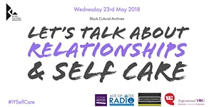 Let's talk about relationships and self care