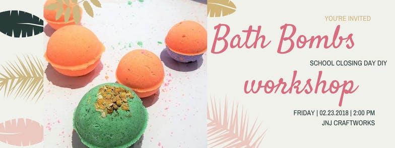 Bath Bombs workshop