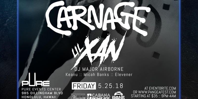 Carnage & Lil Xan Memorial Day Weekend: PANGE