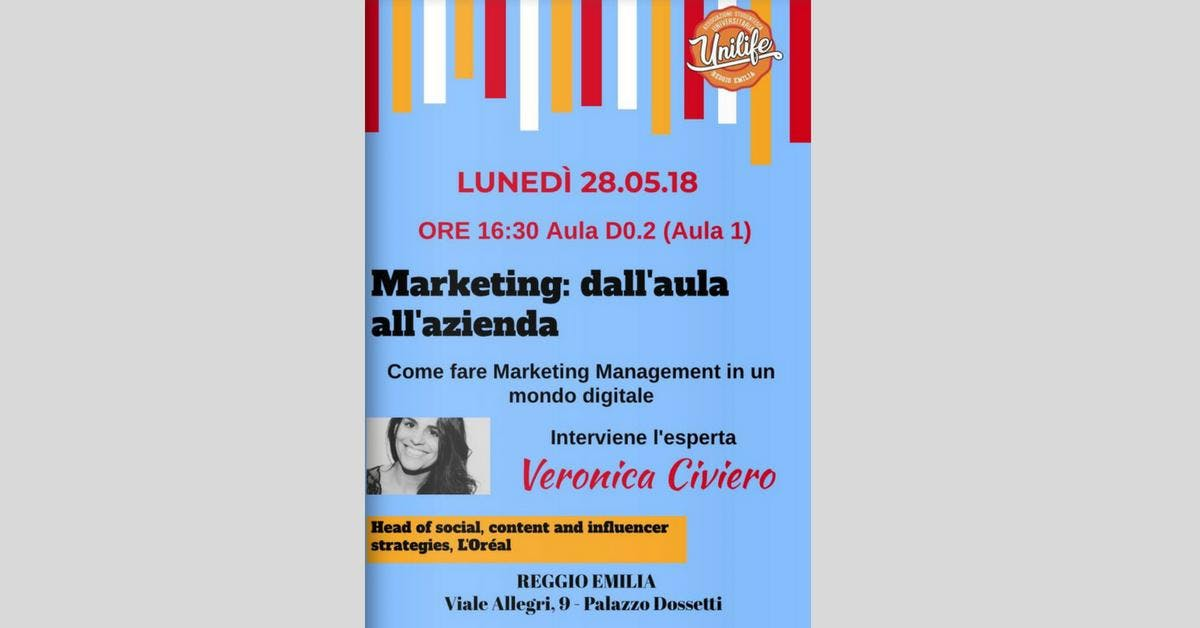 Marketing: dall'aula all'azienda