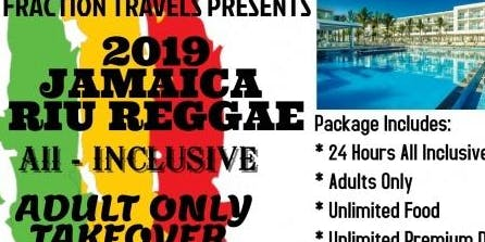 2019 Jamaica Adults Only All Inclusive Takeover