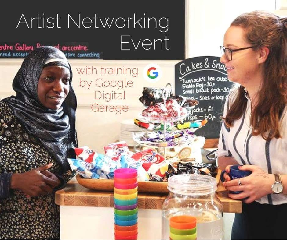Artists Networking Event - Writing for Social