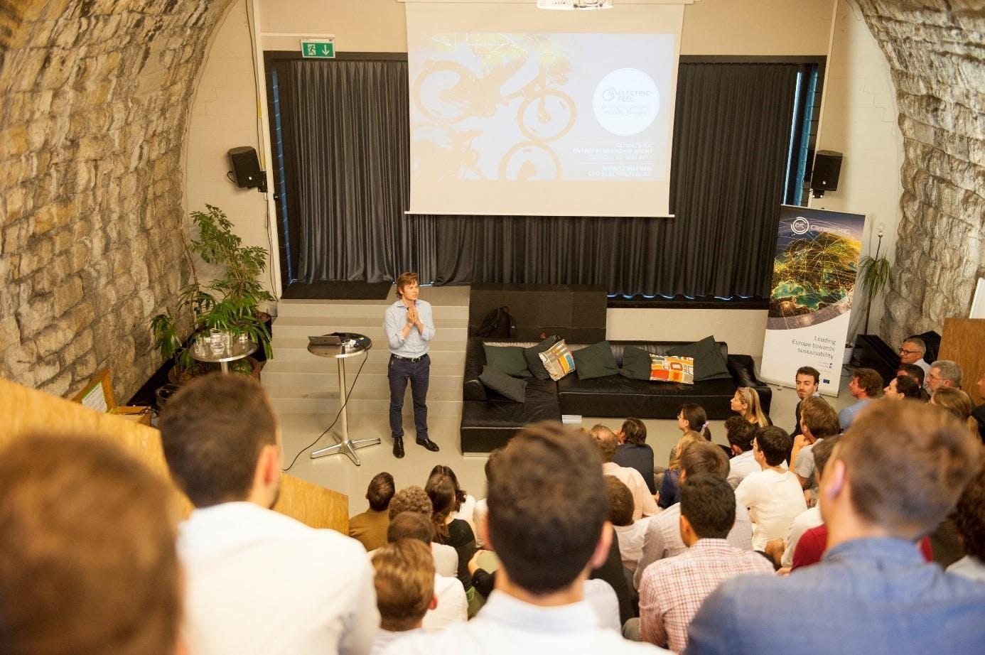 Climate-KIC Entrepreneurship Night in Zurich