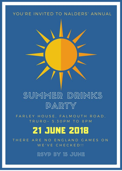 Nalders Summer Drinks Party 2018