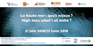 La haute mer, quels enjeux ? High Seas: What's at...