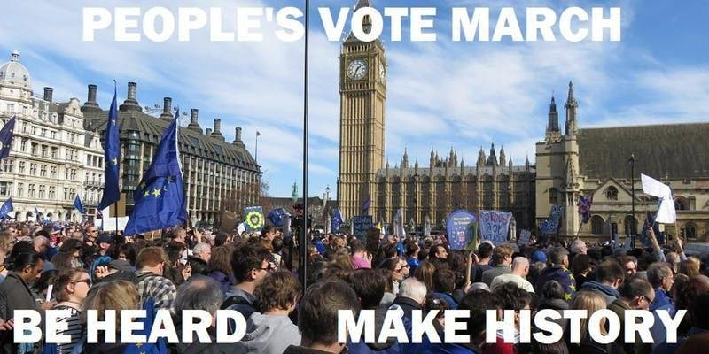 Coach Travel to London - Saturday 23rd June - Peoples Vote March