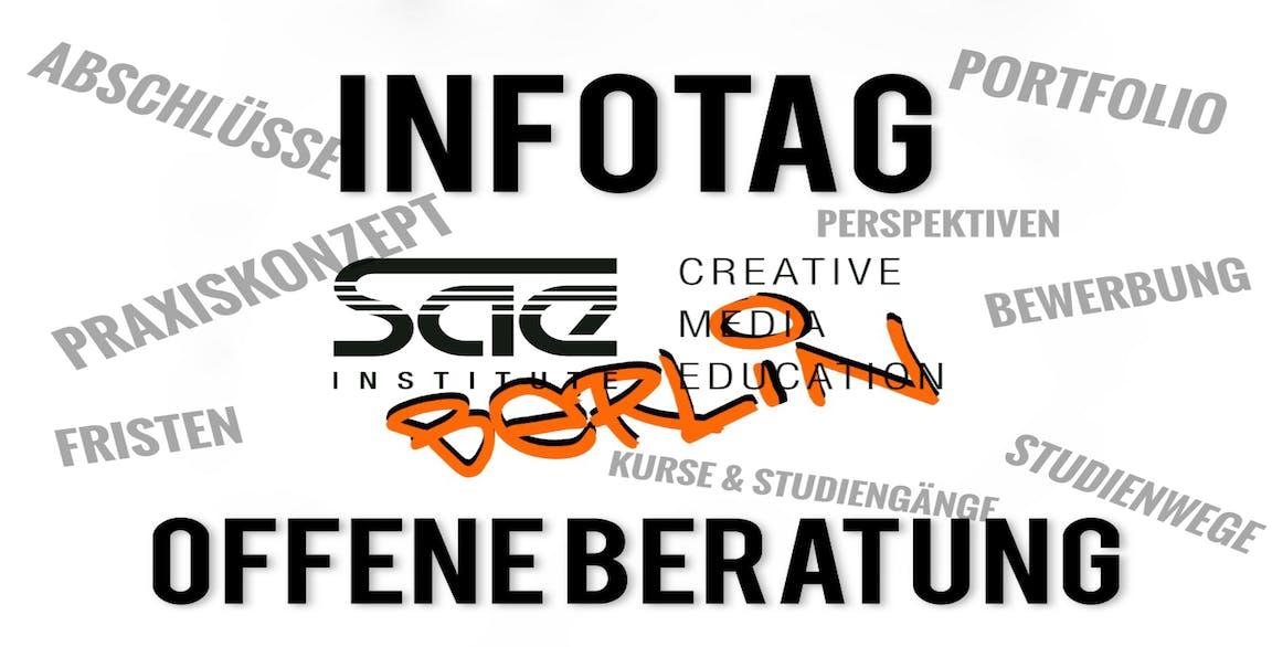 SAE Berlin - INFOTAG: Offene Beratung