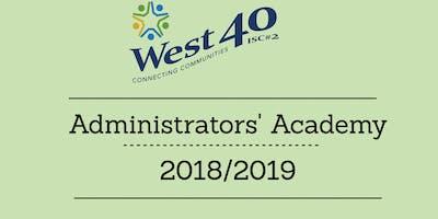 Administrators' Academy: Principal/Teacher Evaluator Retraining:  Student Growth 3000,3001,3002