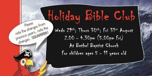 Holiday Bible Club 2018