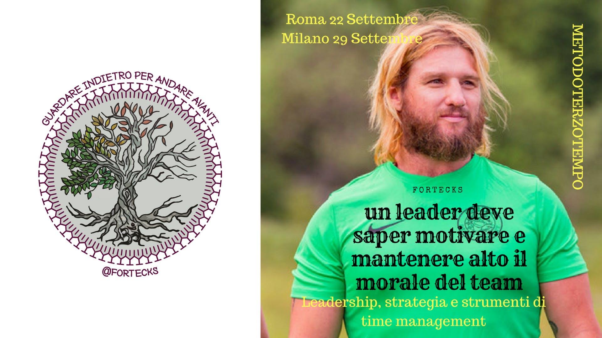 Leadership strategia e strumenti di time mana