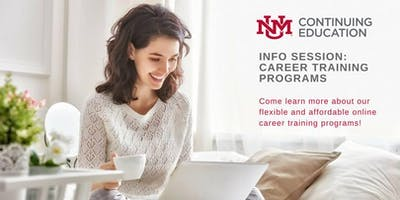 On-Site Info Session - UNM Online Career Training Programs Overview