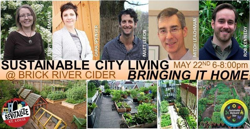 Sustainable City Living, Bringing It Home